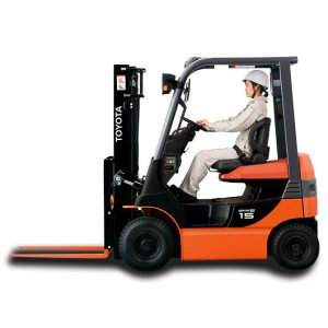 Xe nâng điện Toyota 8FB Series, 1 đến 3,5 tấn