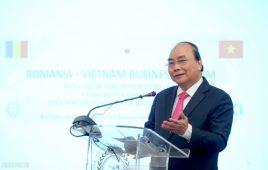Thủ tướng dự Diễn đàn Doanh nghiệp Việt Nam-Romania